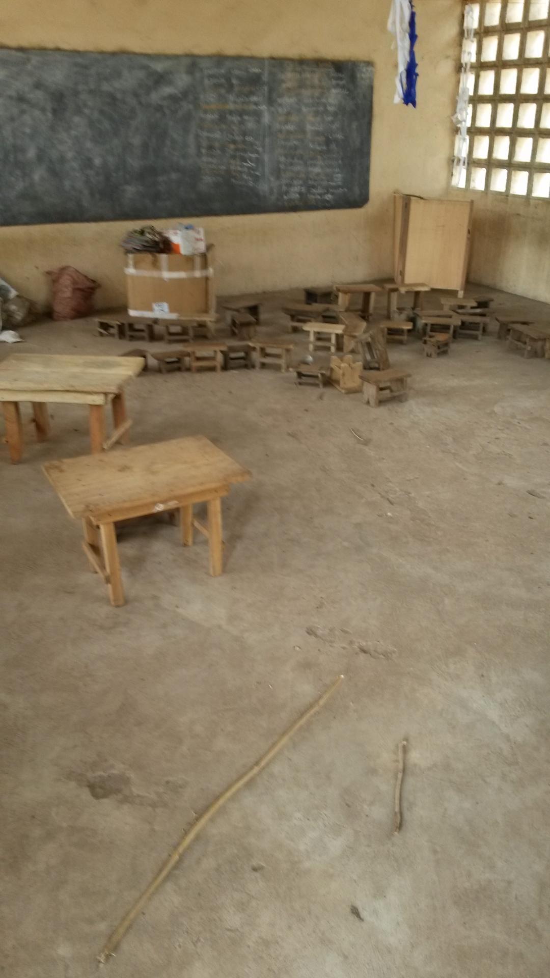 La salle de classedes Maternelles